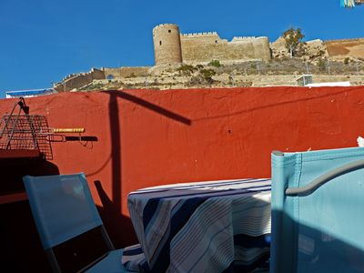 Photo for ANDALUSIAN HOUSE, CENTRAL, VIEW, QUIET, COMFORT, WIFI, DVD, TERRACE, BARBECUE.