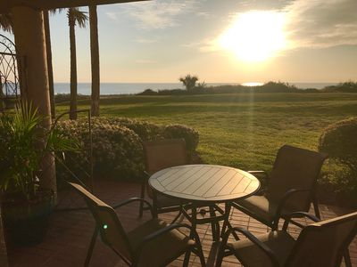 Morning sunrise from Guest Patio
