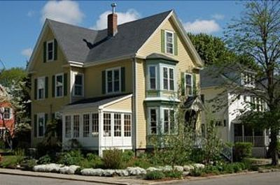 Beautiful vacation home on tree-lined street. Plenty of parking available.