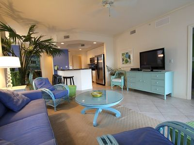 Photo for Barefoot heaven -  Beautiful  condo close to the beach!  2 pools & 2 hot tubs