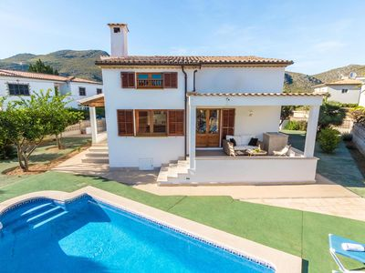 Photo for 2 bedroom Chalet, sleeps 4 in Port de Pollença with Pool, Air Con and WiFi
