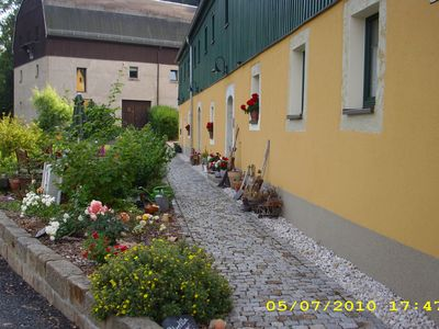 Photo for Holiday in the farmhouse with terraces, house well, cottage garden and mountain views