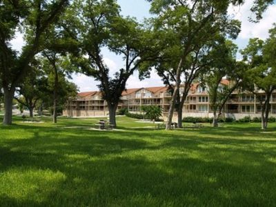 Photo for Spacious Condo on the Guadalupe River at Water Wheel Resort