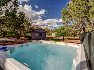 Photo for CDC Approved Cleaning!  Sleeps 18 Fully Remodeled, Great Yard w/ Games, Fire-pit, Hot Tub