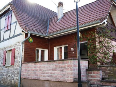 Photo for Traditional country house in a typical Alsatian house