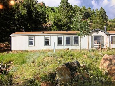 Photo for Spacious 3 bedroom home with awesome mountain view in historic Victor Colorado