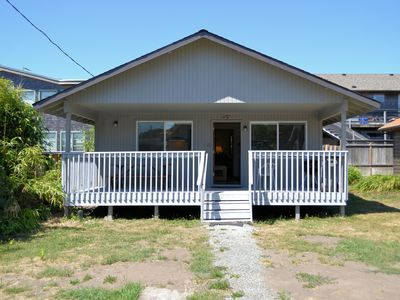 Photo for CABIN AT THE BEACH~MCA 1263~Adorable cabin only 1 block to beach and town.