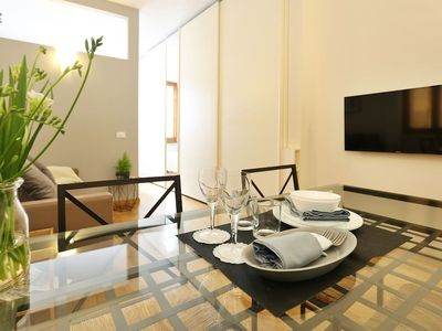 Photo for Elegant and cozy apartment of 50 mq, recently renovated at Oltrarno.