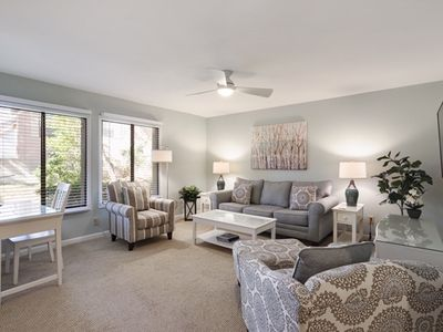 Photo for Beach and pool are now open/Harbour Views/Updated 1BR/1BA/Flat w/Sofa Bed