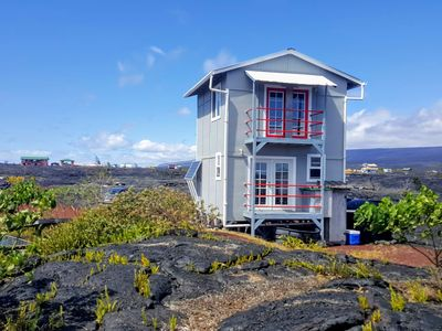 Photo for Ocean and Lava View from 400 sq ft Off Grid House- Amazing sunrises & Sunsets