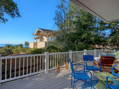 Photo for Peaceful & Charming Cambria Beach Home With Ocean View Deck