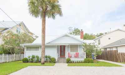 Photo for HEATED SW POOL INCLUDED! Original Island Cottage Renovated! 3 Block To Beach!