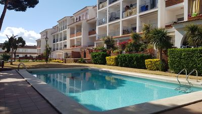 Photo for <![CDATA[Holiday rental in Lloret - Duplex located 300m from the beach, with wifi, common swimming pool and relax zone. Ref. A065]]>
