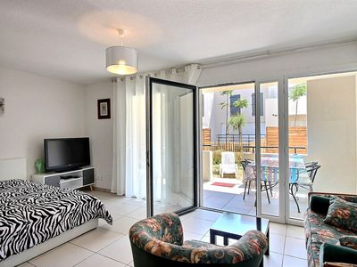 Photo for On the ground floor of a residence, pretty studio with garden for 4 people Ref. 2949