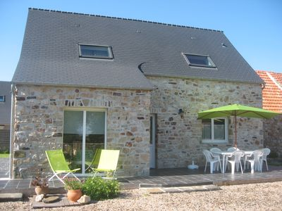 Photo for stone house of countries, comfortable and bright, in quiet hamlet