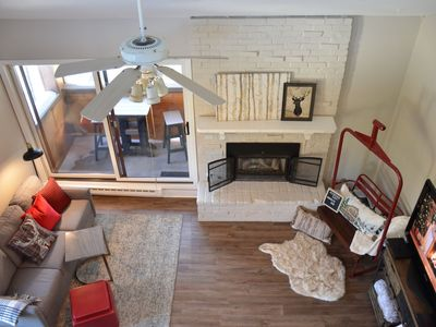 Photo for Walk to Quicksilver lift from your Breckenridge loft!