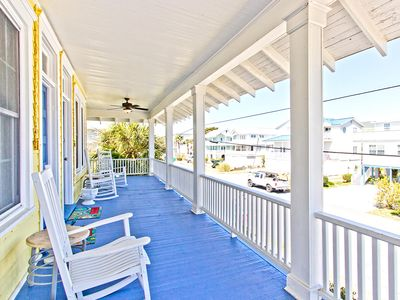 Photo for Historic Tybee 1 Bedroom Second floor Apartment -  Only 1/2 Blocks to Tybee's South End Beach