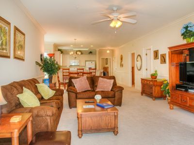 Photo for Magnolia Pointe 205-4895 offers outdoor pool, wifi, washer/dryer and a great lake view.