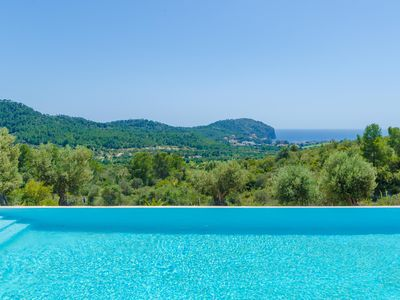 Photo for CAS GARRIGUER - Villa with sea views in Andratx.