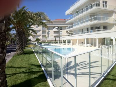 Photo for Stunning panoramic sea front holiday apartment in Cannes, France