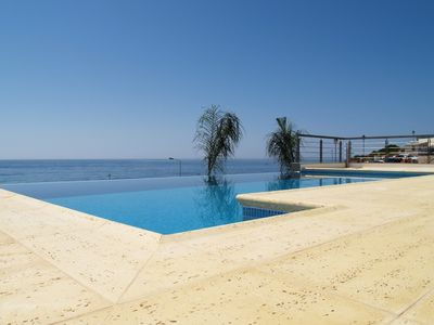 Photo for Luxury villa with private pool and magnificient sea views