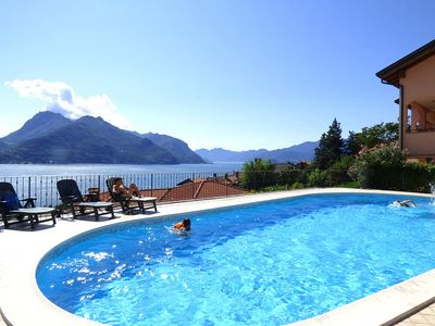 Photo for Beautiful New Apartment With Swimming Pool Stunning Panoramic lake view