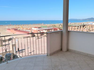 Photo for By the sea: 180 ° -Meeres panorama from all rooms