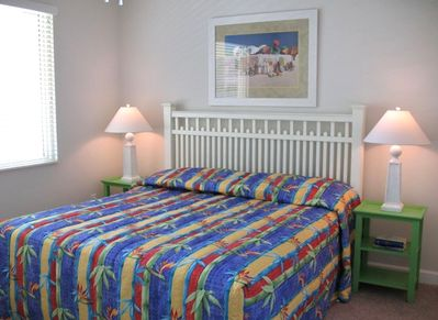 """Master Bedroom with gulf view and 26"""" LCD TV, DVD"""