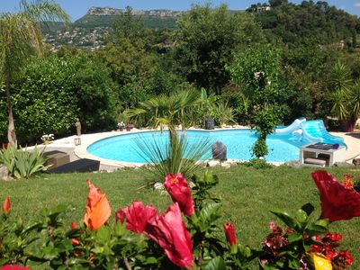 Photo for Exceptional villa in Vence in a quiet bucolic environment