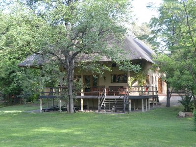 Photo for Luxury Villa / House in Kruger Park with large veranda overlooking the garden