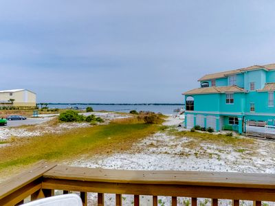 Photo for Beautiful coastal home w/ a community outdoor pool, dock, & beach access