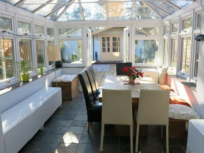 Photo for BOURNECOAST: LARGE HOUSE WITH PATIO GARDEN - WALK TO SANDY BEACHES/SHOPS-HB6202