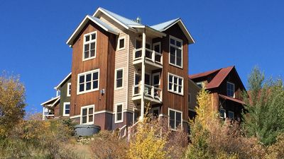 Photo for Gorgeous View Home In Mt. Crested Butte! Hot Tub, Fireplace!
