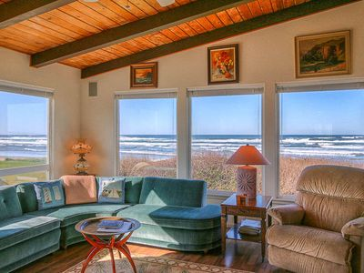 Photo for Sweeping Ocean Views From This Beautiful Home with Beach Access Close By!