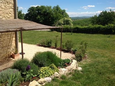 Photo for House in Castellet-du-Luberon, Quiet, Large Garden, View Luberon & Alps