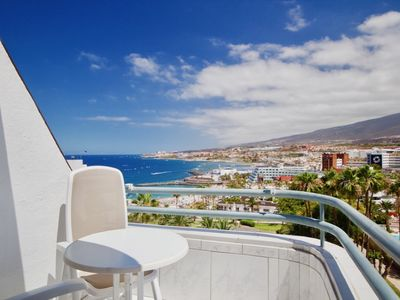 Photo for Casa Atlantis almost on the sea, balcony with dream sea view, heated pool, wifi