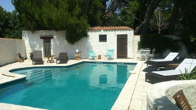 Photo for Country house 15 minutes from the sea with heated pool