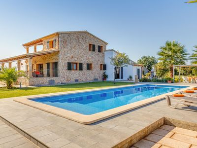 Photo for FAMILY VILLA WITH POOL, WIFI, BBQ, TERRACE, GARDEN, IN POLLENSA, MALLORCA