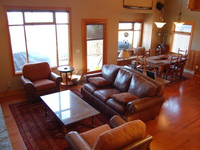 Photo for Spacious + Deluxe Home with Private Hot Tub! Off Woodcutter Run
