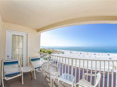 Photo for Direct Beach 3rd Floor, Sweeping Gulf Front Views! Watch the Wildlife swim by! - Free Wifi