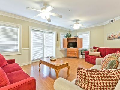 Photo for Brass Rail 208: 3 BR / 2.5 BA condo in Tybee Island, Sleeps 9