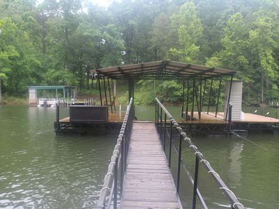 Photo for Rest, relax and fish at this Lake Hartwell hideaway