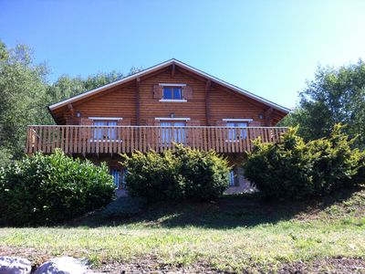 Photo for SCANDINAVIAN CHALET ON FENCED SPORTS SOUTH FACING, PANORAMIC