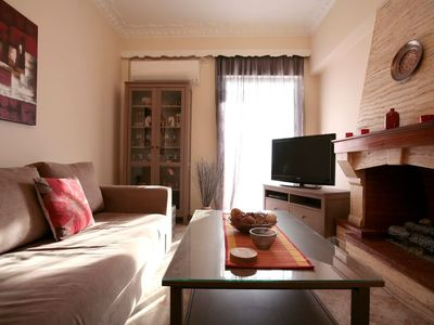 Photo for Apartment 972 m from the center of Pireas with Lift, Internet, Washing machine, Air conditioning (750765)