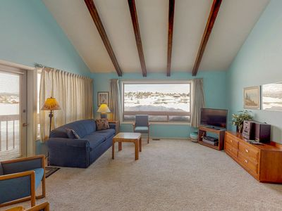 Photo for NEW LISTING! Dog-friendly condo w/ covered porch & views -near golf, lakes & ski