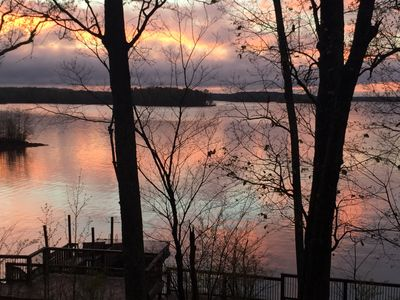 Photo for PERFECT FALL & WINTER GETAWAY!! Best view on the lake 😊