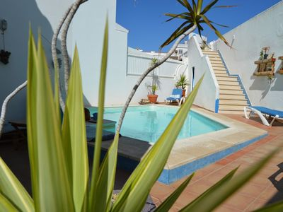 Photo for Vila with Pool, Ocean view and Palm Tree Garden