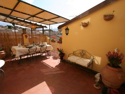 Photo for Sweet Home the comfort of home with a beautiful terrace 5 minutes from the center