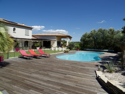 Photo for 5 BEDROOM VILLA WITH 12-BED POOL
