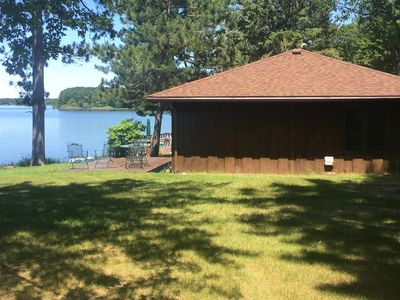 Photo for Waterfront 3 Bedroom Cottage on Beautiful Lake Nokomis
